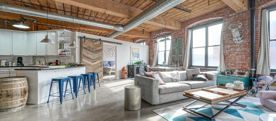 TOP 5 LOFT STYLE LISTINGS