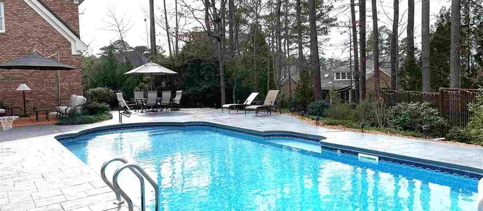 TOP 5 LISTINGS IN WAKE COUNTY WITH PRIVATE SWIMMING POOLS