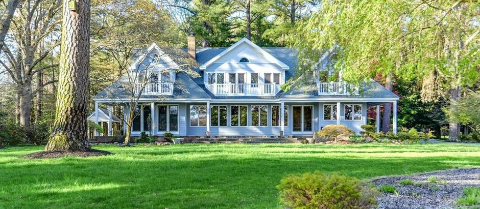 TOP 5 WATERFRONT LISTINGS IN WICOMICO COUNTY