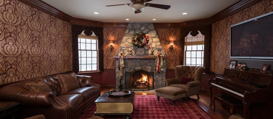 TOP 5 SOUTH SHORE LISTINGS WITH SANTA-WORTHY FIREPLACES