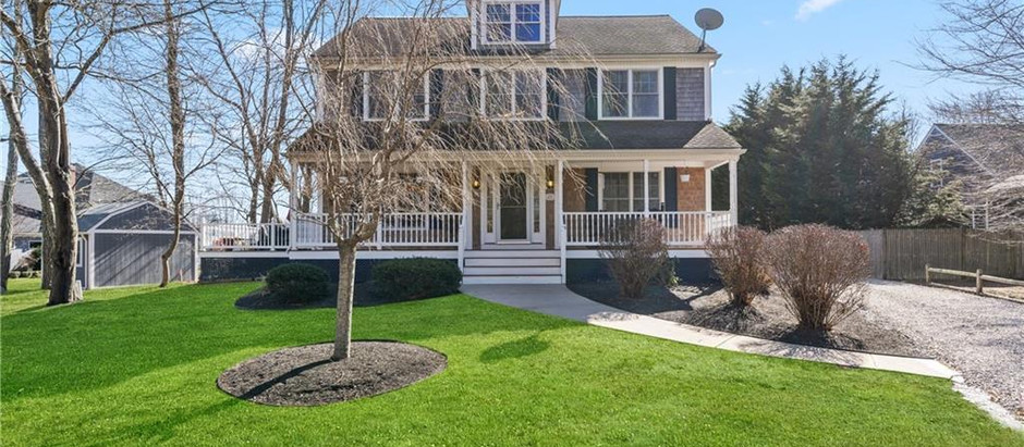 TOP 5 COLONIAL HOMES OF NEWPORT COUNTY