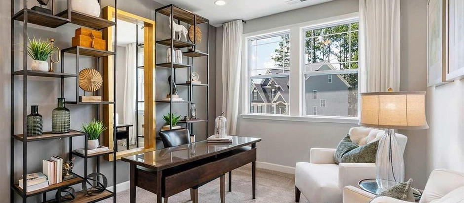 TOP 5 LISTINGS FEATURING A HOME OFFICE