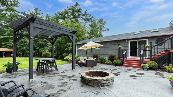 TOP 5 LISTINGS WITH BACKYARD FIRE PITS