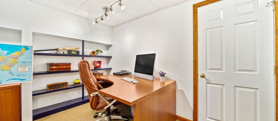 TOP 5 LISTINGS WITH GREAT HOME OFFICES