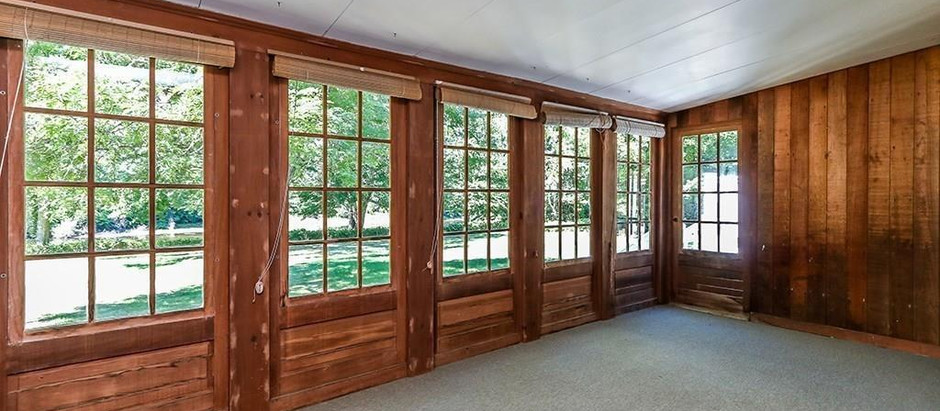 TOP 5 LISTINGS WITH A THREE-SEASON ENCLOSED PORCH