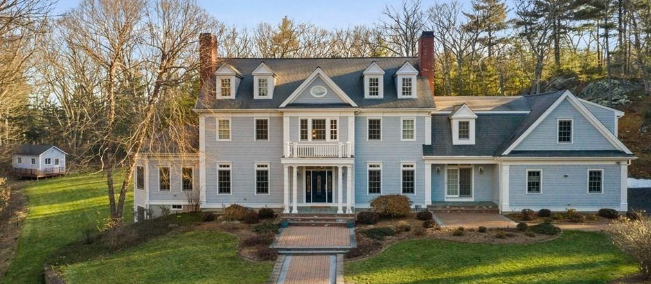 TOP 5 SINGLE FAMILY HOMES IN SHERBORN UNDER $2 MILLION