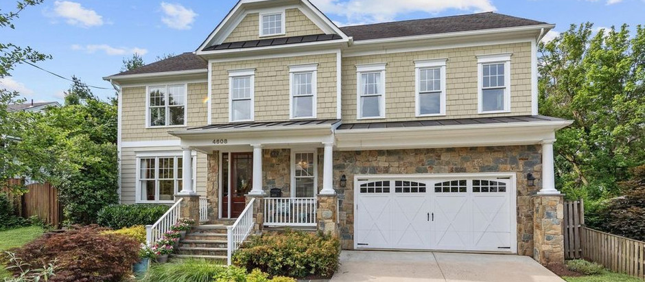 TOP 5 CRAFTSMAN STYLE LISTINGS IN BETHESDA UNDER $2 MILLION