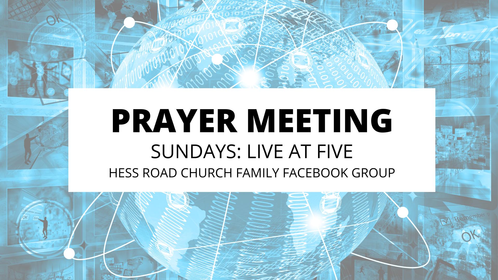 PRAYER MEETING (1)