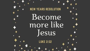 New Resolutions