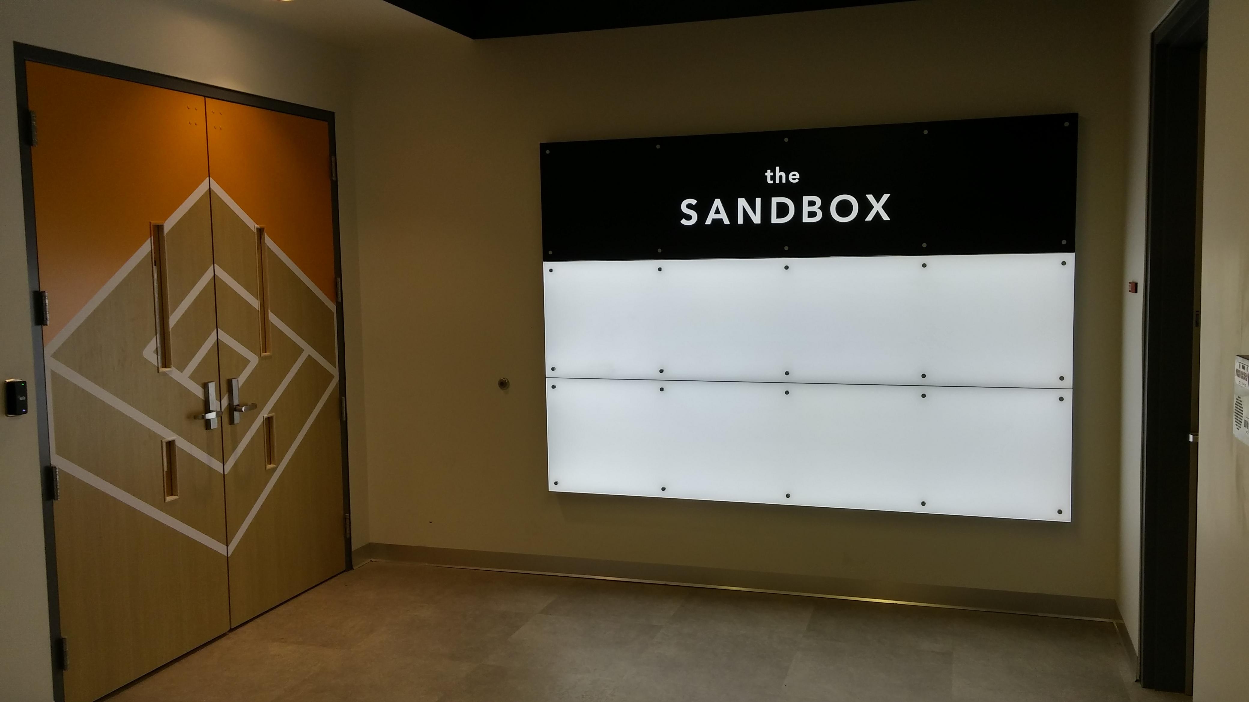 Sign + Door Graphic