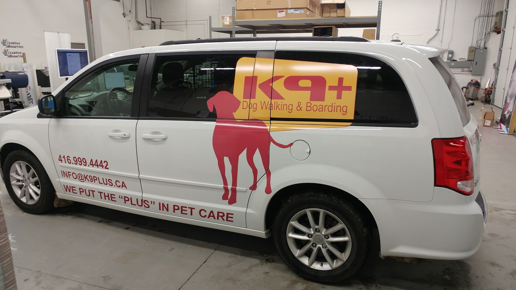 Van decals wrap toronto