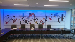 Office custom wall graphic printing and install