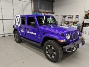 jeep full wrap colour change