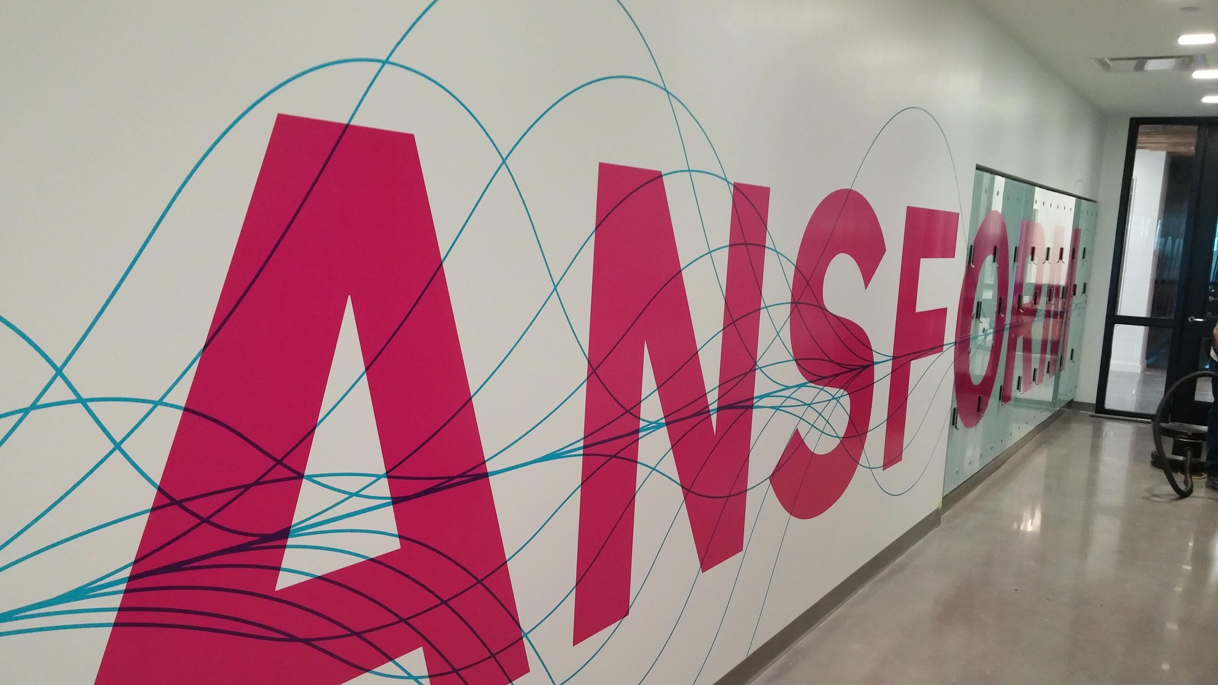 Wall graphic branding