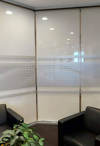 Dotted Frosted Window Film