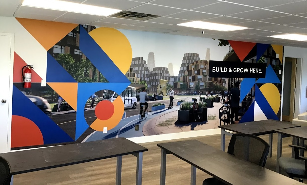 Wall Mural for Office toronto