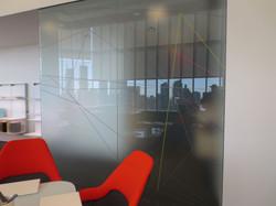 Office Graphic installation