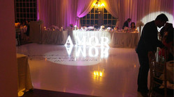 WEDDING FLOOR INSTALL