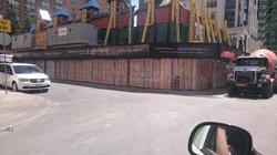 Construction barricate printing toronto downtown