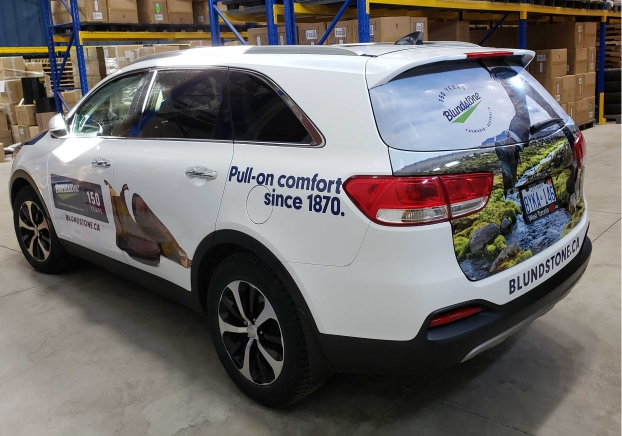 Full commercial car wrap