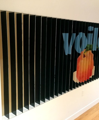 Wall Fin Graphics for Office
