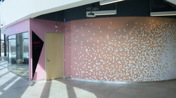 Full wall mural cover + Sign 3D