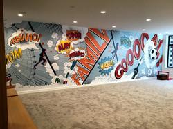 Office wall graphic Toronto
