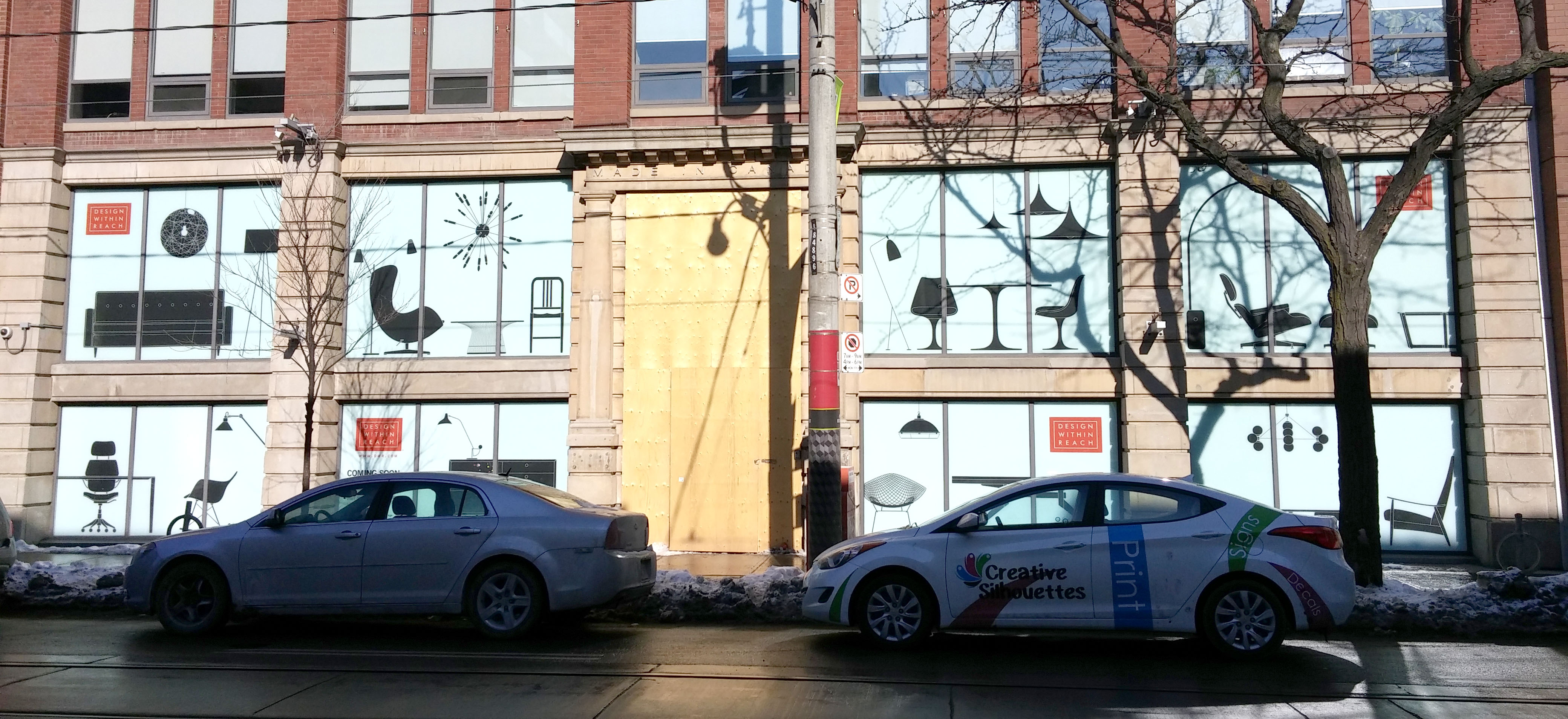 Windows cling printing Toronto