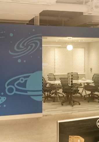Digital Printing Wall mural for offices