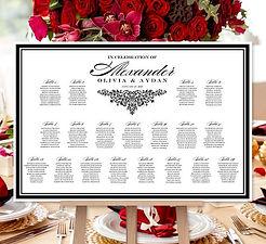 wedding-seating-chart-poster-black-white