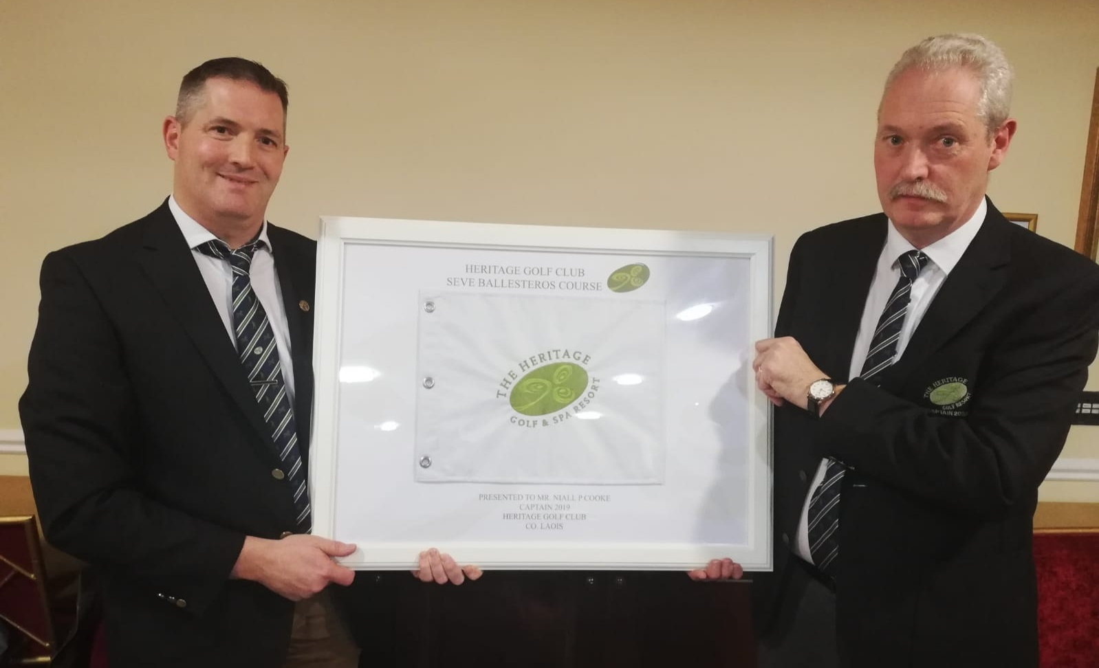 Presentation to Capt Niall at AGM 061219
