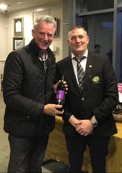 Hamper 2019 Spot Prize Winner Gerry