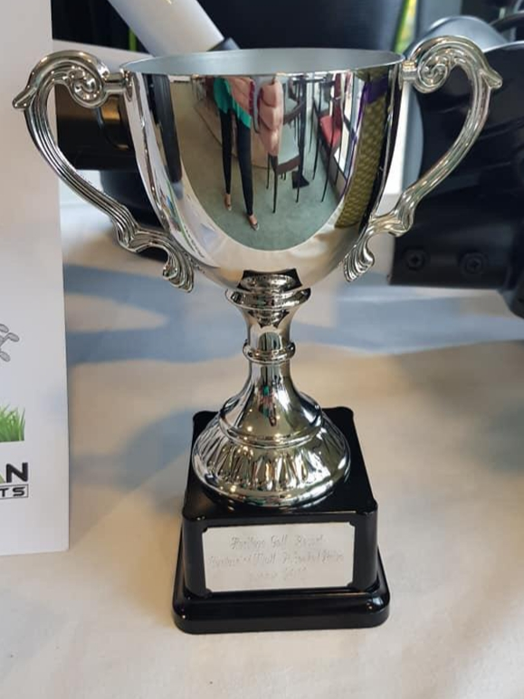 Captains Prize Winners Trophy