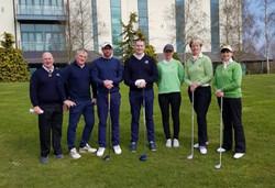 Irish Mixed Foursomes Home Team 070419