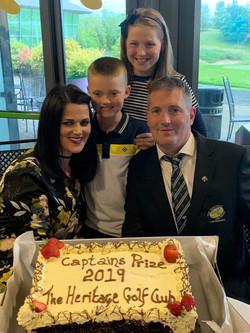 Capt Niall, Grainne & Children Clodagh &