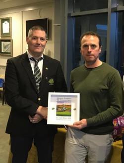 Medal Winner Damian Carroll (Oct '19)