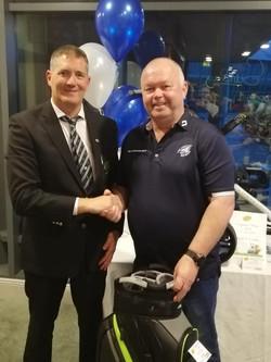 Capts Prize 2nd John Moore