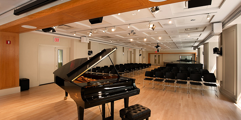 Solo Recital at Yamaha Artist Services (new date)