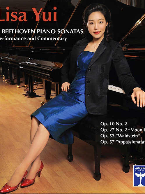 DVD&Blu-Ray: Lisa Yui Plays Beethoven Sonatas