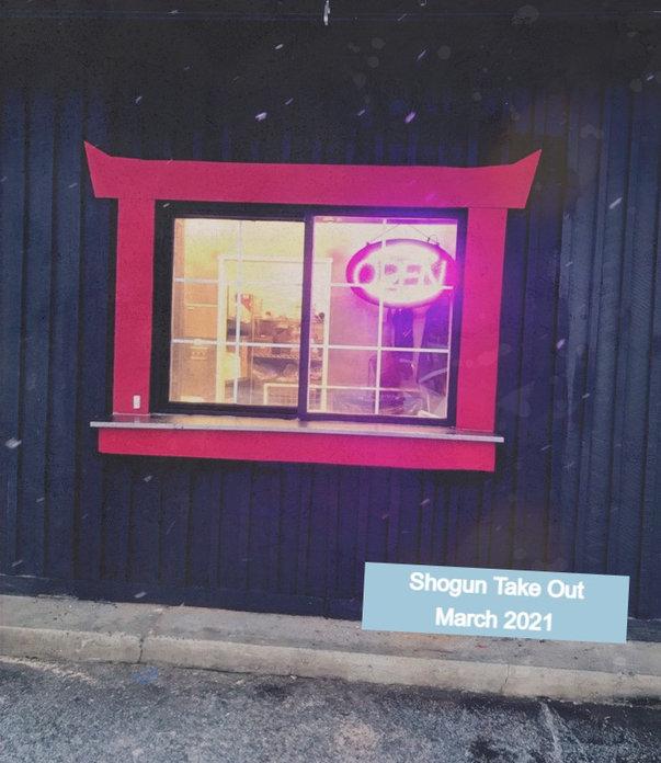 Shogun Takeout Window