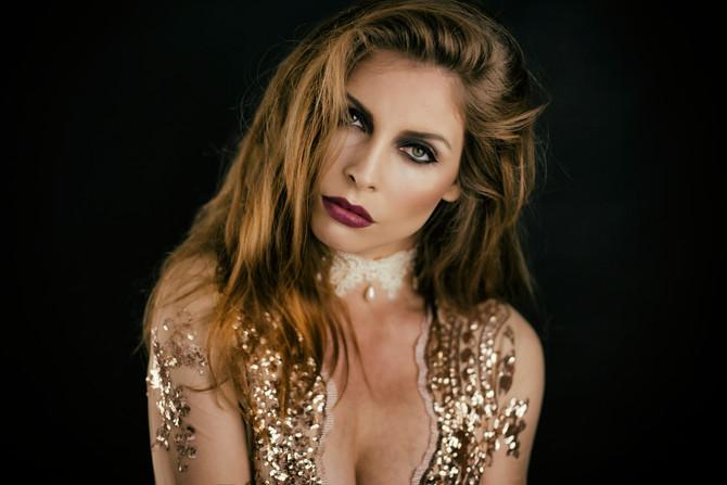 Glamour Portrait mit Make up