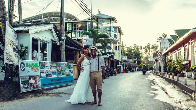 Karibische Hochzeit