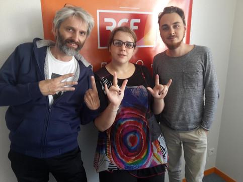 """[RADIO] Lux' Vivens dans l'émission """"Génération Like"""" sur RCF Sud Bretagne"""