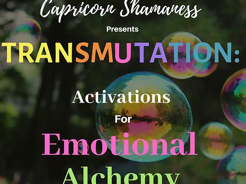 TRANSMUTATION: Activations For Emotional Alchemy