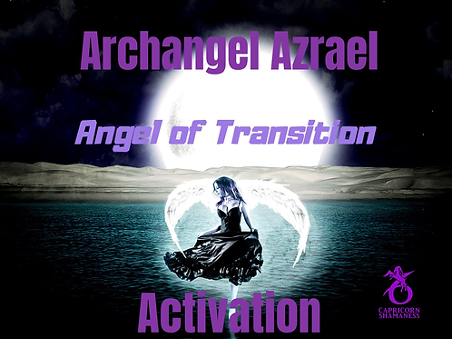 Archangel Azrael (The Angel of Transition)