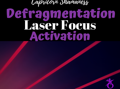 Defragmentation and Laser Focus