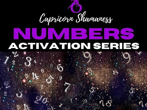 Numbers Series (0 - 9)