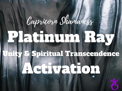 Platinum Ray Activation