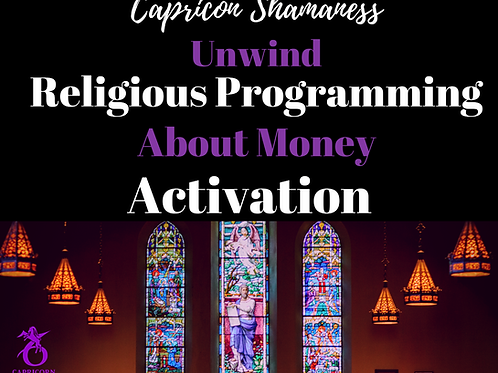 Unwind Religious Programming About Money