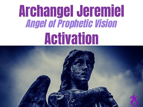 Archangel Jeremiel (Angel of Prophetic Vision)